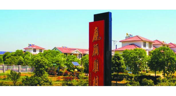 """朱巷镇庞孤堆社区获得""""省卫生社区""""称号"""