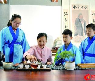 叶家庄小学让学生走近传统文化